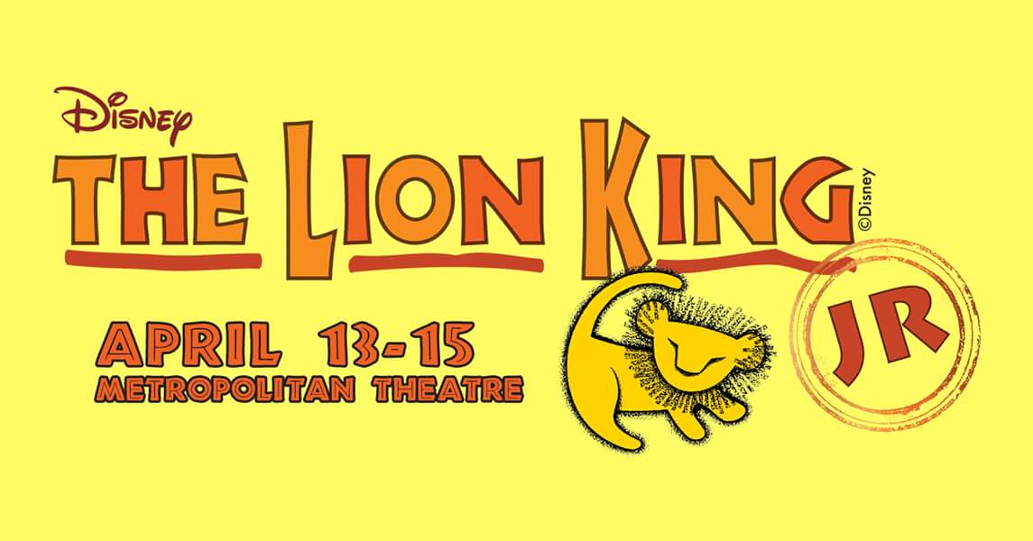 Disney's Lion King Junior April 13-15